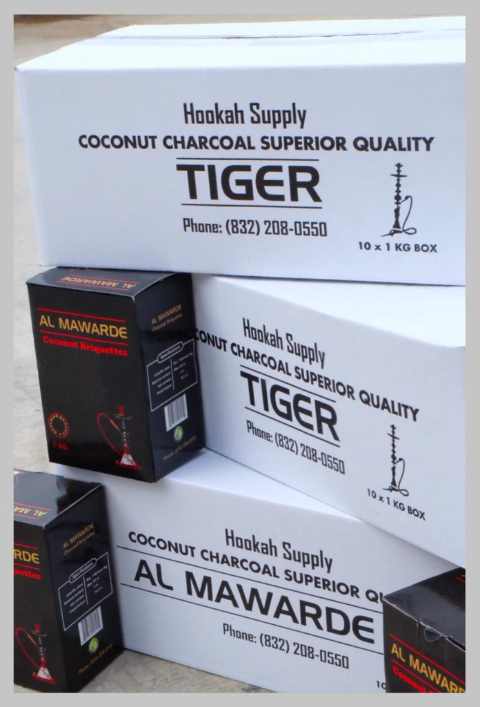 charcoal.pro coconut charcoal packing