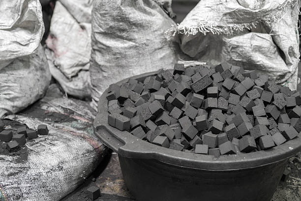 charcoal.pro coconut charcoal production drying process