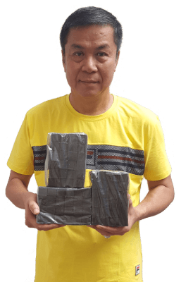 Henry Gosalim owner of Coconut charcoal factory in Indonesia